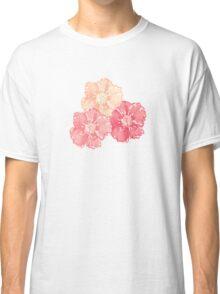 Blossoms (Aqua) Classic T-Shirt
