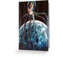 Deep Ocean, Deep Space Greeting Card