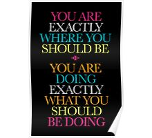 Words of Inspiration Poster