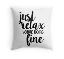 Phish Strange Design Throw Pillow