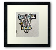 Raggamuffin Patriot Framed Print