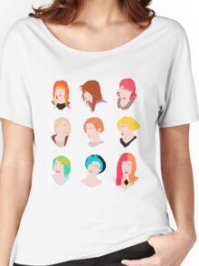 hayley pattern Women's Relaxed Fit T-Shirt