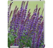 Lavender and greenery iPad Case/Skin