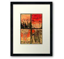 Birds of the Apocalypse - Afterlife Framed Print