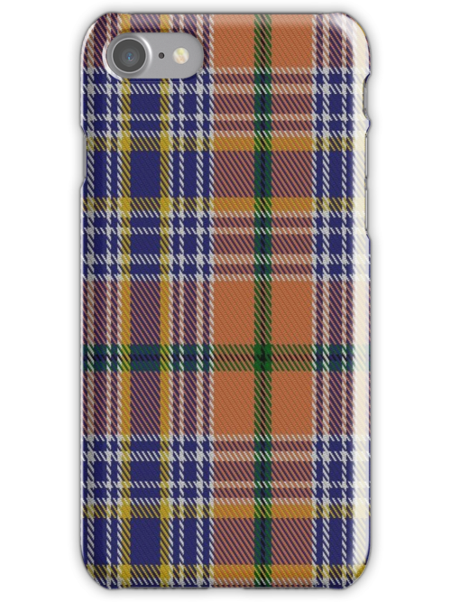 01225 Tangerine City Fashion Tartan by Detnecs2013