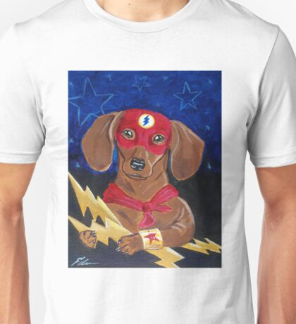 Dachshund Super Hero - The Dash Unisex T-Shirt