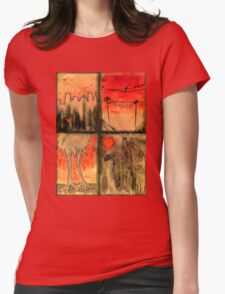 Birds of the Apocalypse - Afterlife Womens Fitted T-Shirt