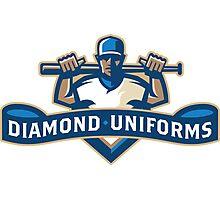 Diamond Uniforms Photographic Print