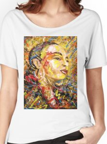 Sade. Women's Relaxed Fit T-Shirt