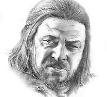 Game of Thrones, Ned Stark by simonbartlett
