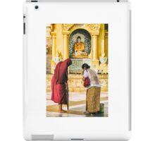 Blessings of a Stranger - Yangon, Myanmar iPad Case/Skin