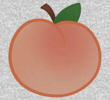 Peach One Piece - Short Sleeve