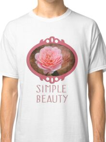 Simple Beauty in Pink Classic T-Shirt