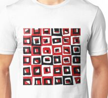 RED SQUARED Unisex T-Shirt
