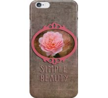 Simple Beauty in Pink iPhone Case/Skin
