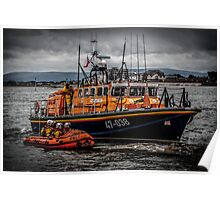 Fleetwood Lifeboat Poster