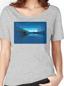 Gorilla Creek in the mist Women's Relaxed Fit T-Shirt