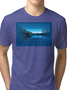 Gorilla Creek in the mist Tri-blend T-Shirt