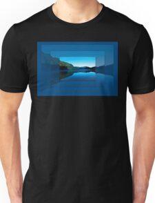Gorilla Creek in the mist Unisex T-Shirt