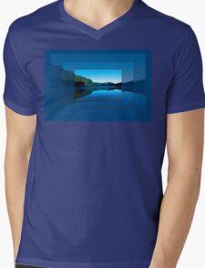Gorilla Creek in the mist Mens V-Neck T-Shirt