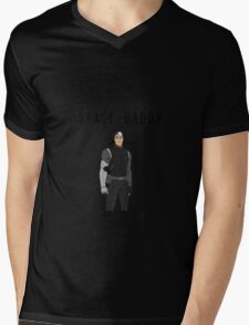 Space Daddy Collection Mens V-Neck T-Shirt
