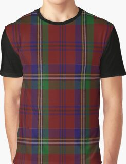 01218 Davenport Yam Fashion Tartan  Graphic T-Shirt