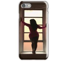 Curvy Silhouette  iPhone Case/Skin