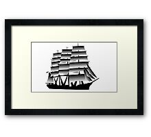 The Viking Expedition Voyager  Framed Print