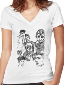 Zen Women's Fitted V-Neck T-Shirt