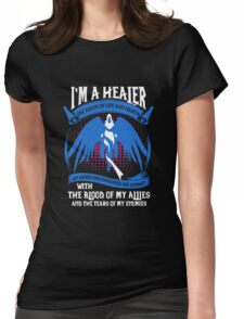 Warcraft - I'm A Healer Womens Fitted T-Shirt