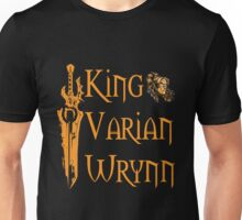 Warcraft - King Varian Wrynn Unisex T-Shirt