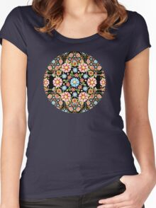 Millefiori Rosette Women's Fitted Scoop T-Shirt