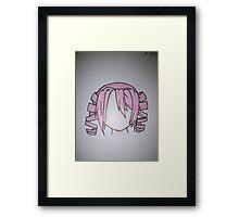 Anime Pink Framed Print