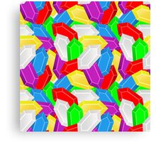 Piles of Rupees Canvas Print