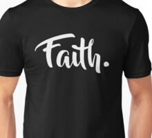 Faith. Tshirt (White) Unisex T-Shirt