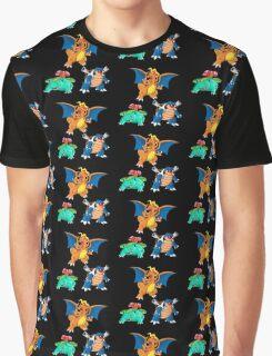 Starters pattern Graphic T-Shirt