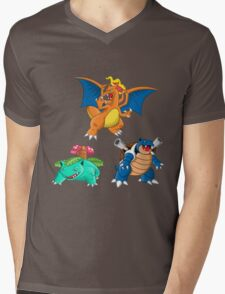 Starters pattern Mens V-Neck T-Shirt