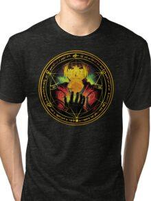 Edward Transmutation Circle Tri-blend T-Shirt