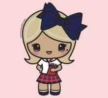 St. Joseph's Academy - Blonde Student - SJA, Baton Rouge, LA One Piece - Short Sleeve