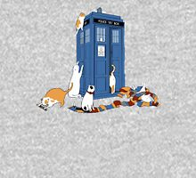 police box cat  Unisex T-Shirt