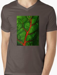 #11        Swiss Chard Leaf Mens V-Neck T-Shirt
