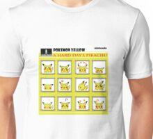 Pokemon Yellow: A Hard Day's Pikachu Full Color Unisex T-Shirt