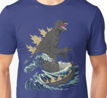The Great Monster off kanagawa Unisex T-Shirt