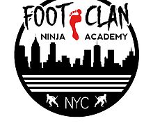 Foot Clan Ninja Academy T-Shirt NYC New York Teenage Mutant Ninja Turtles TMNT  by chadkins