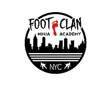 Foot Clan Ninja Academy T-Shirt NYC New York Teenage Mutant Ninja Turtles TMNT  Photographic Print