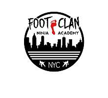 Foot Clan Ninja Academy T-Shirt NYC New York Teenage Mutant Ninja Turtles TMNT  Photographic Print