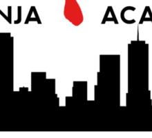 Foot Clan Ninja Academy T-Shirt NYC New York Teenage Mutant Ninja Turtles TMNT  Sticker