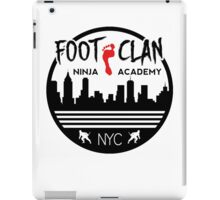 Foot Clan Ninja Academy T-Shirt NYC New York Teenage Mutant Ninja Turtles TMNT  iPad Case/Skin