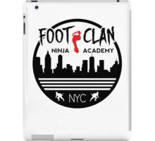 Foot Clan Ninja Academy T-Shirt NYC New York Teenage Mutant Ninja Turtles TMNT  iPad Case/Skin