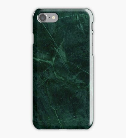 Green Marble Pattern iPhone Case/Skin